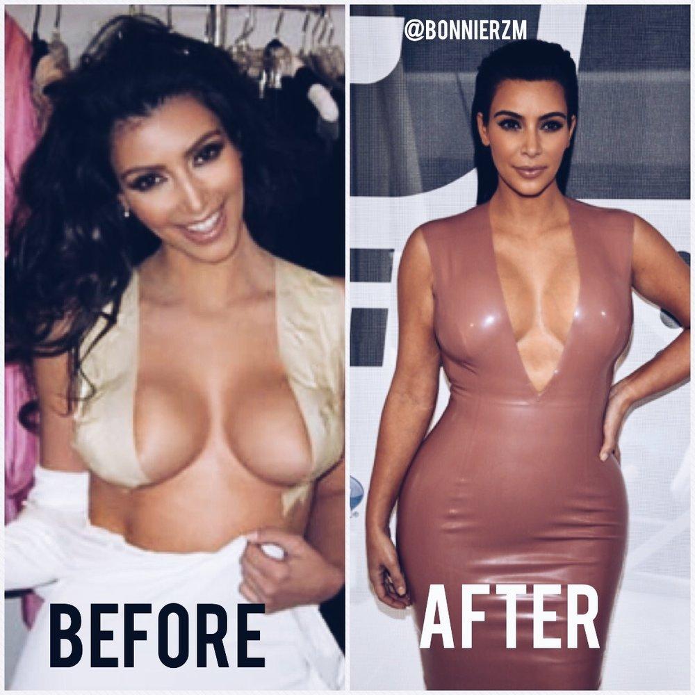 Kim kardashian boob tape