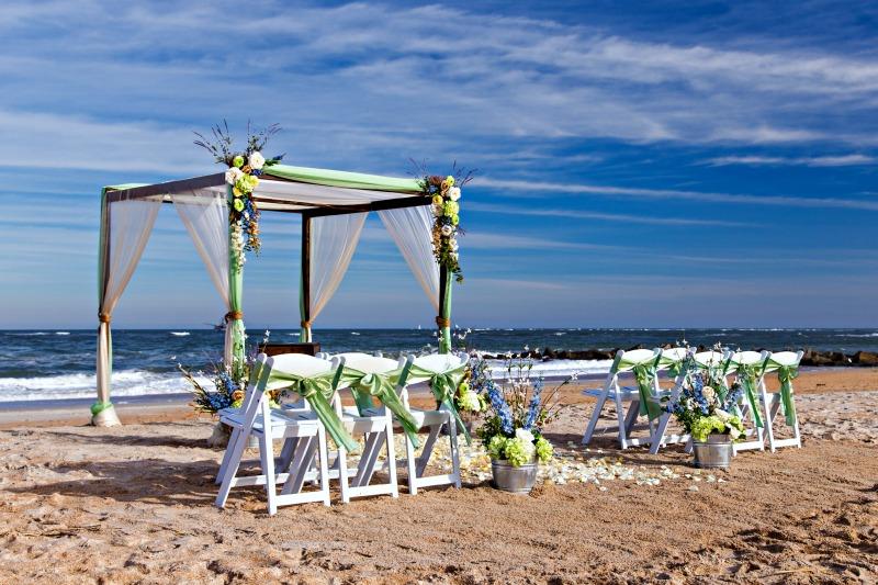 boda en la playa