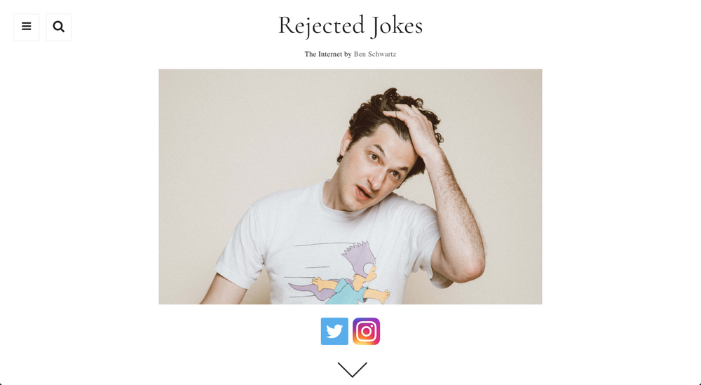WEB DESIGN -    REJECTEDJOKES.COM