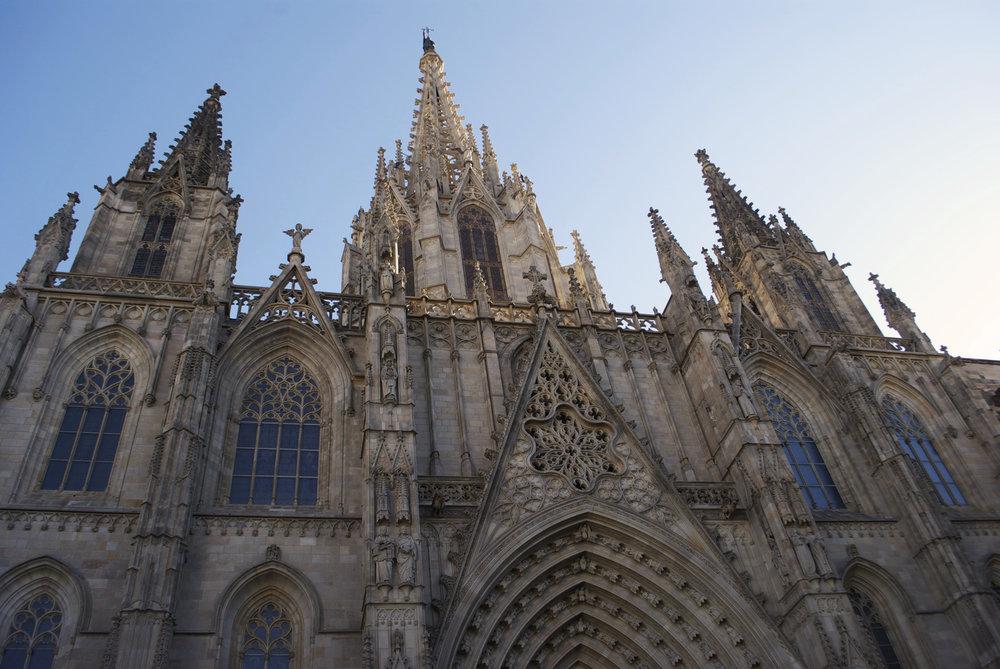 Catedral de la Santa Creu i Santa Eulàlia, Barcelona, Spain