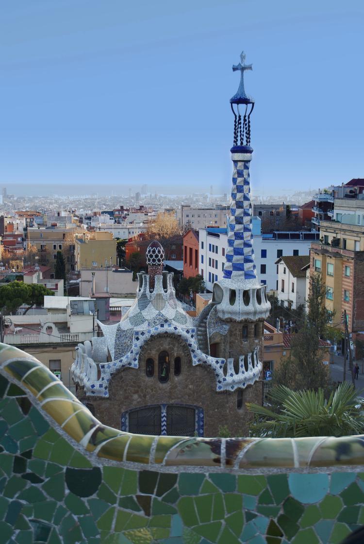 Gaudí's Park Güell, Barcelona, Spain