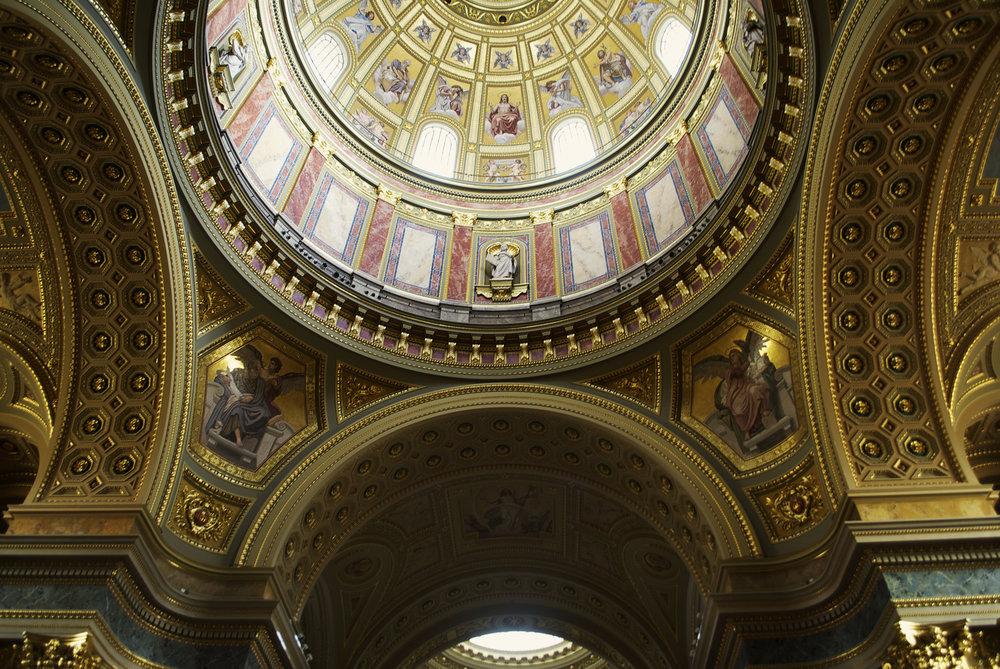 Basilica Interior, Budapest, Hungary