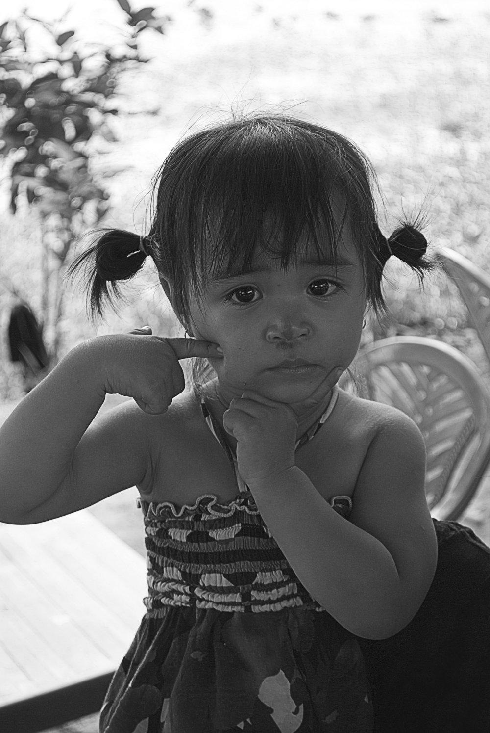 PORTRAITS | Girl with Buns, Hue, Vietnam