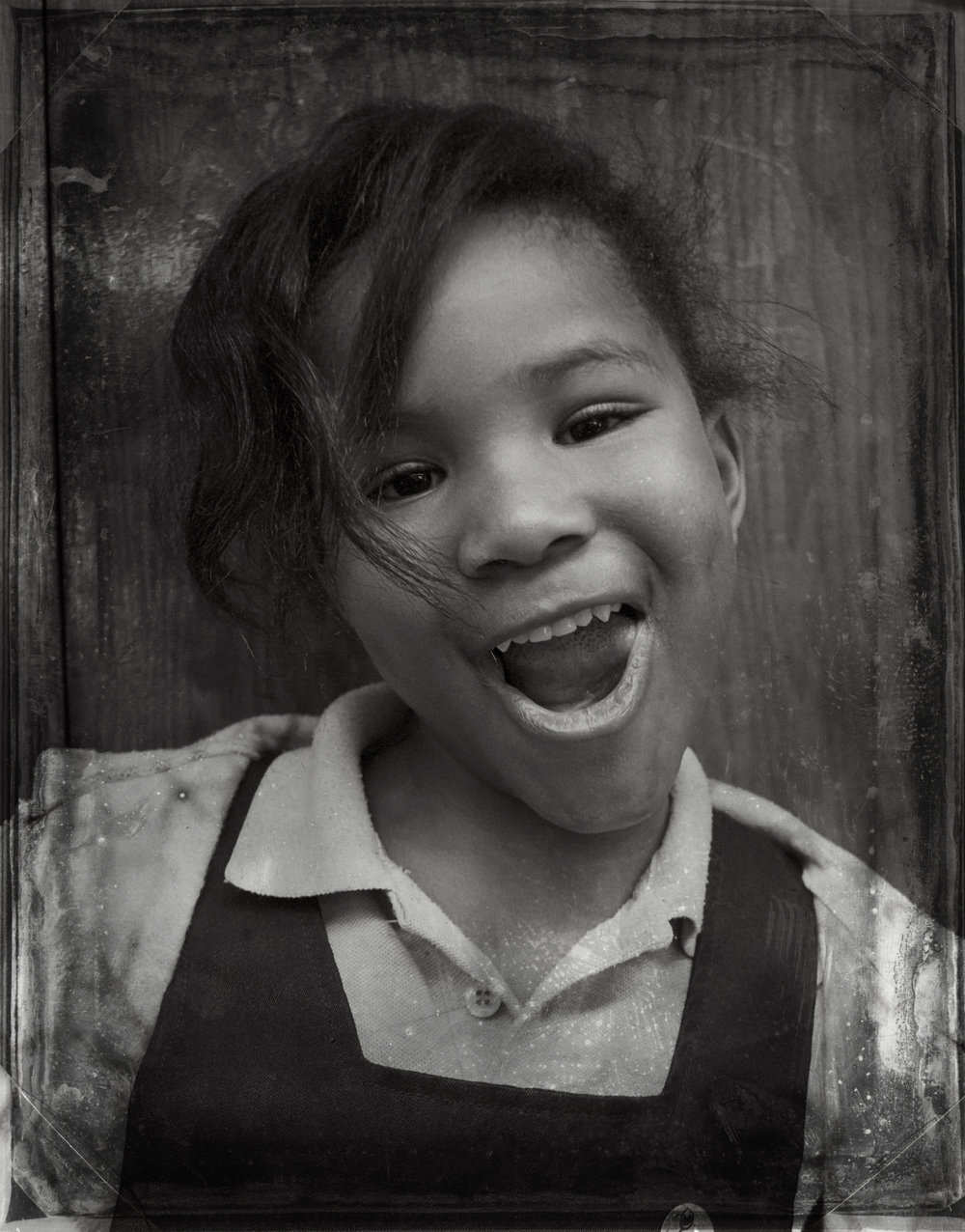 PORTRAITS | Girl in Overalls, Chicago