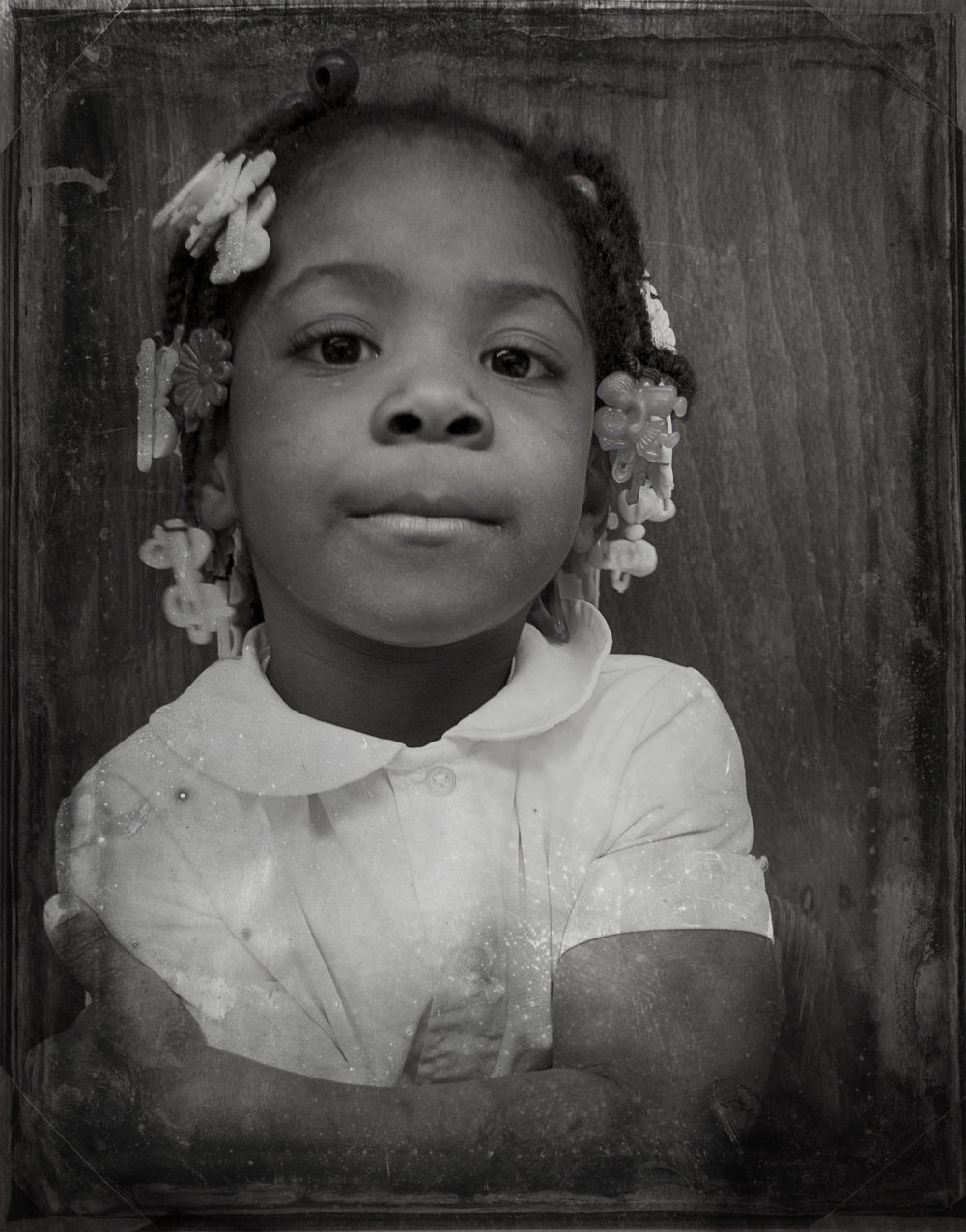PORTRAITS | Girl in Collared Shirt, Chicago