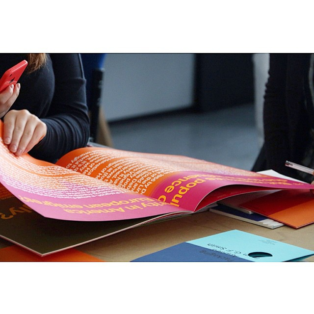 Papers, Narrative and the Art of Print - @gfsmithpapers visit to @thecassart #thecass today