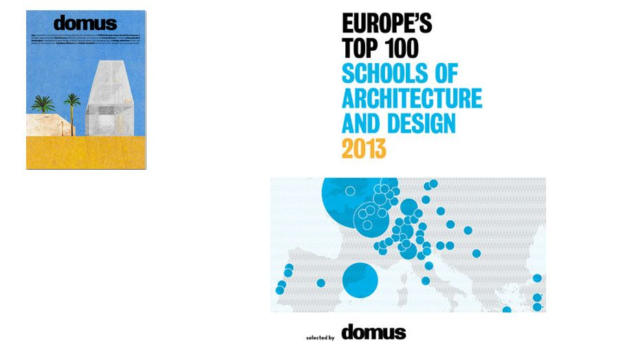 Cass makes Top 100 List Domus magazine names The Cass one of Europe's top 100 Architecture and Design Schools for 2013 Source: The Cass