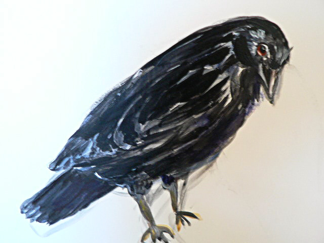 Crow (drawing)