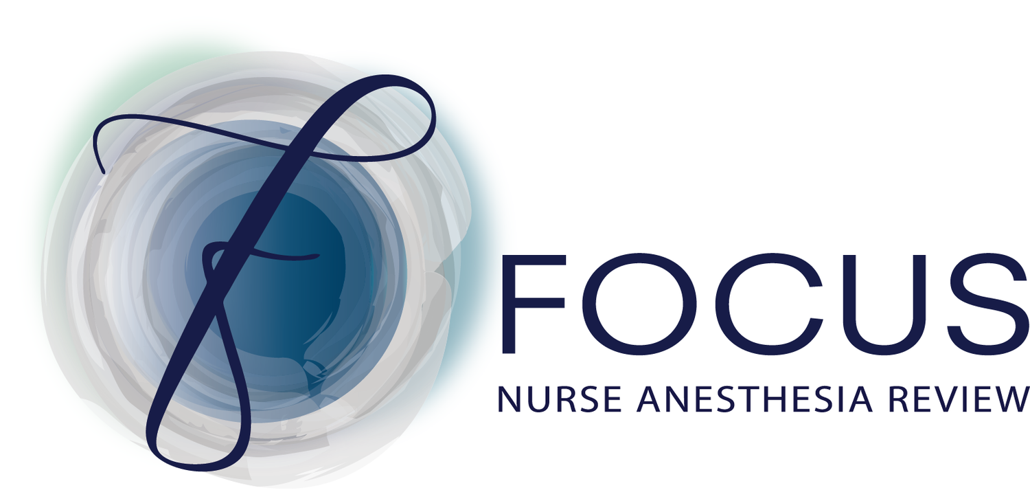 Focus Nurse Anesthesia Review - CRNA conferences & AANA approved CRNA continued education courses.