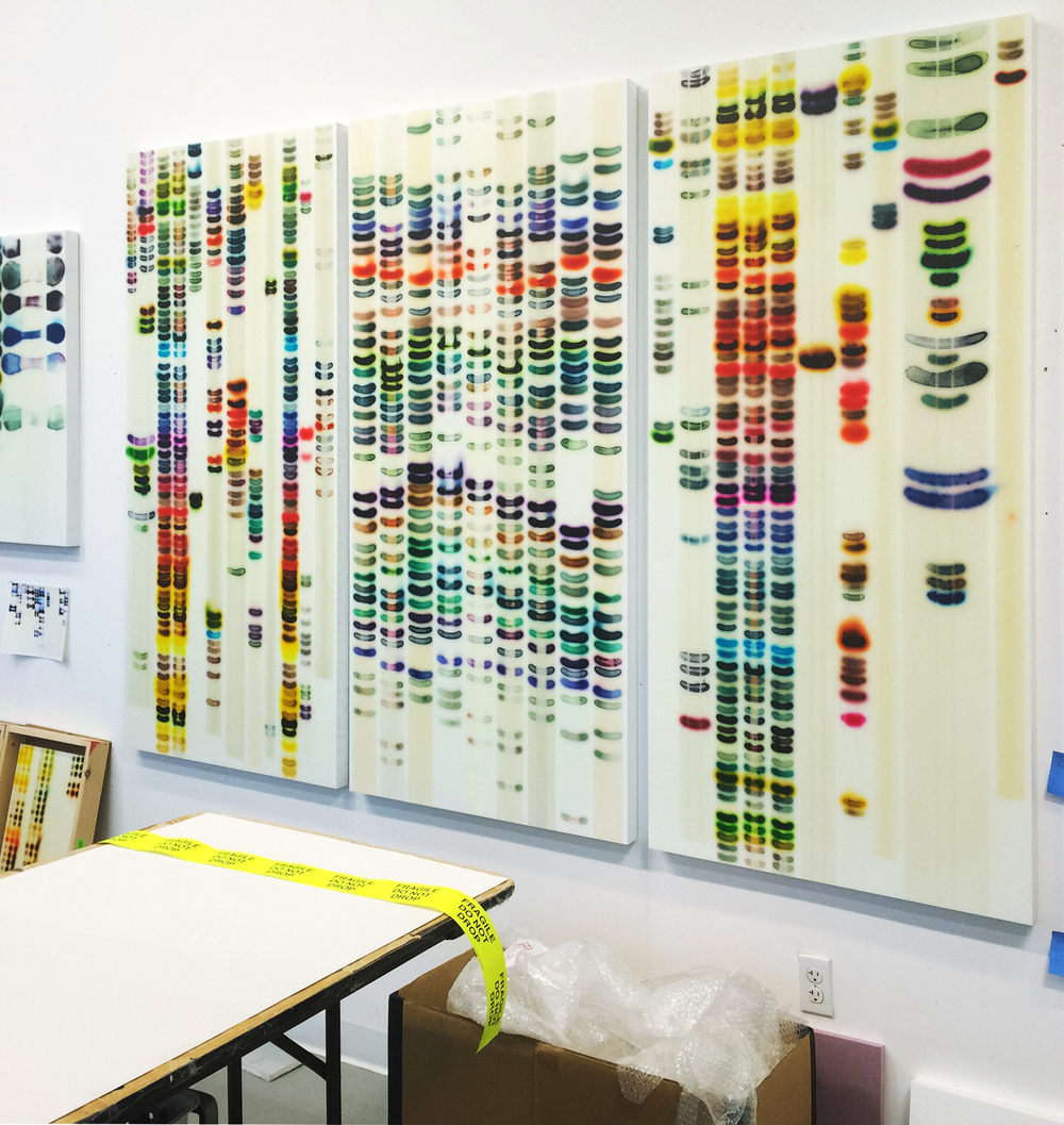 studio view with Large Chart (Full Spectrum)