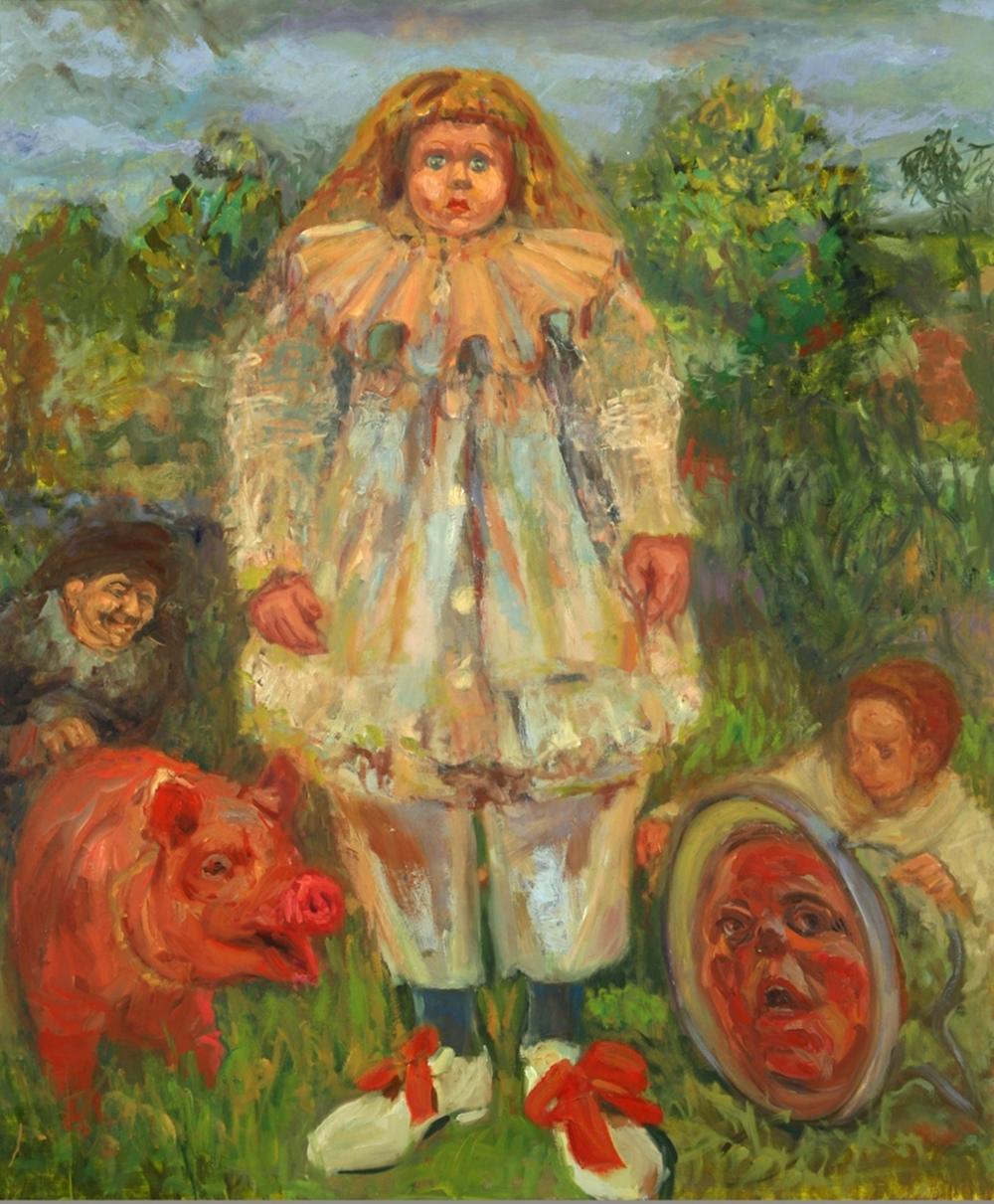Pierrot (after Watteau)