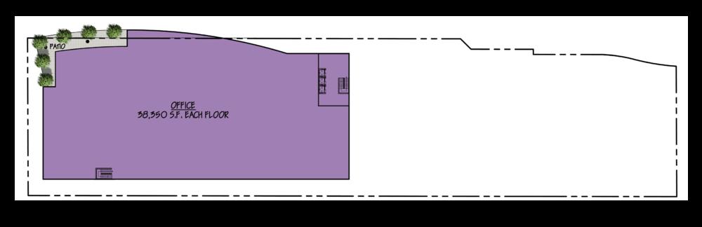 8th - 9th Floor Plans