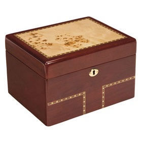 Burlwood Treasure Box  $295.00