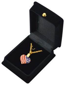 Gold Heart Flag