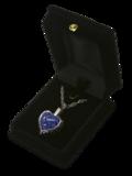 Blue Heart Silver