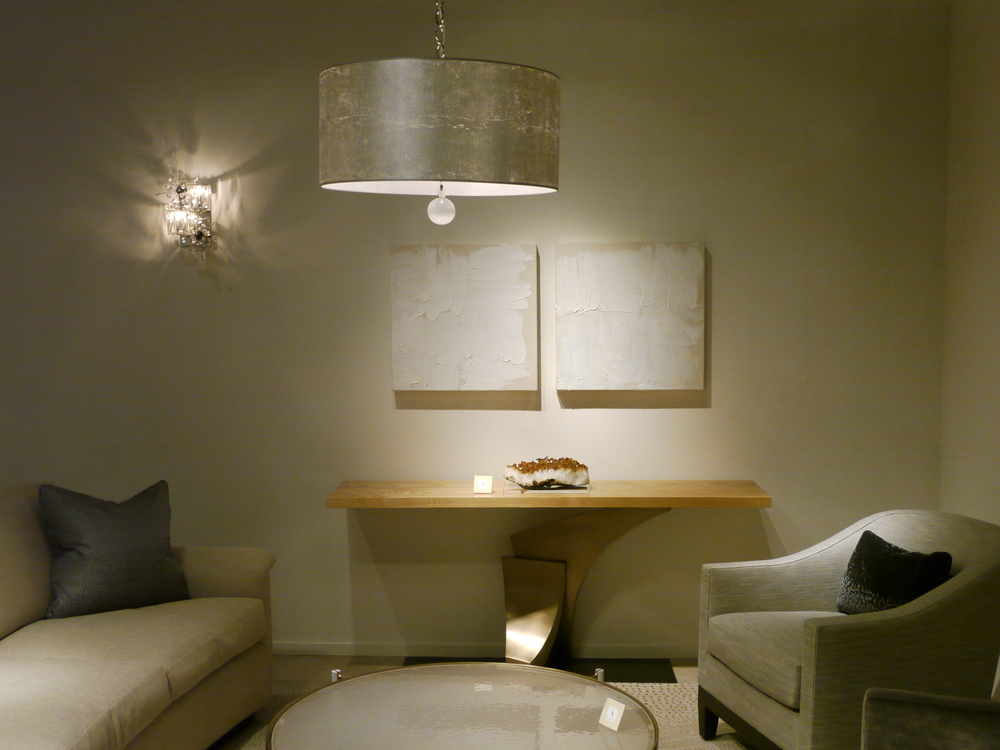 Display at A. Rudin showroom at Pacific Design Center, West Hollywood