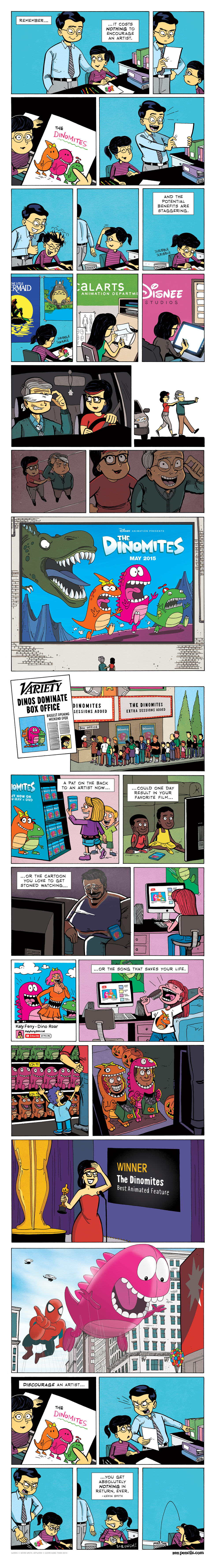A comic strip by Gavin Aung Than. Please support and check out his work at www.zenpencils.com