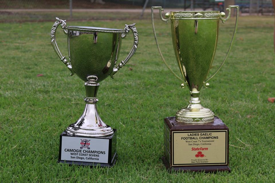 West Coast Sevens silverware won by Calgary Chieftains Ladies Footballers and Camogie players in 2016 are up for grabs again.