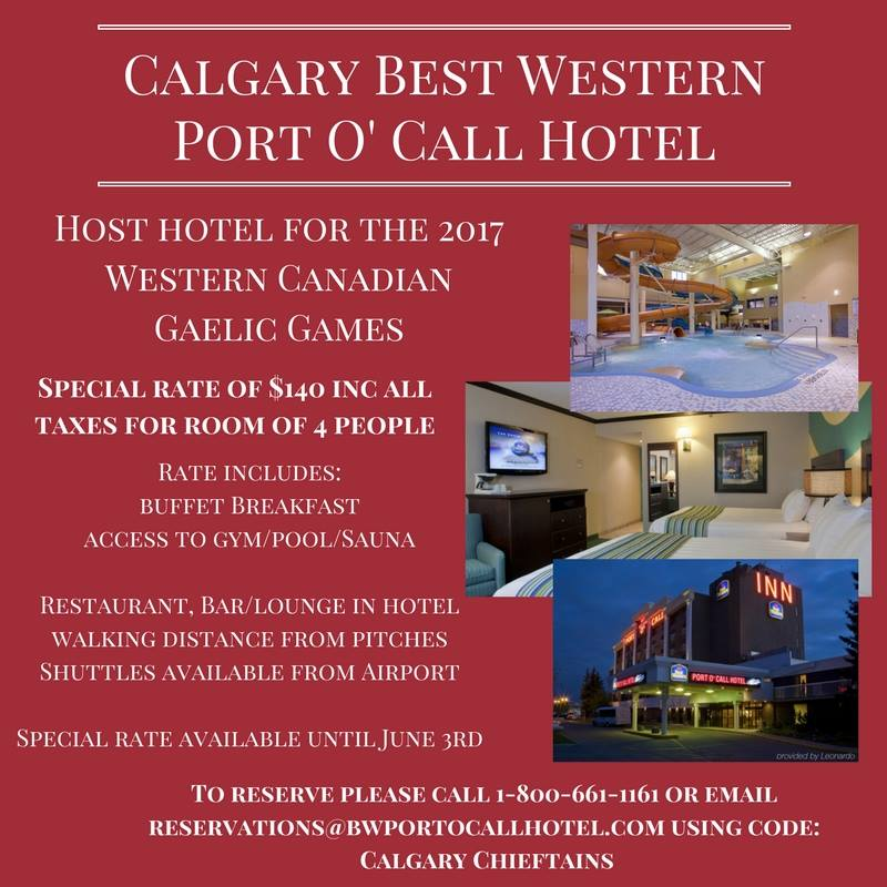 The Port O'Call hotel is located next to the tournament venue