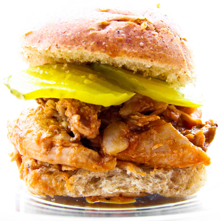 Slow Cooker Pork for Sandwiches