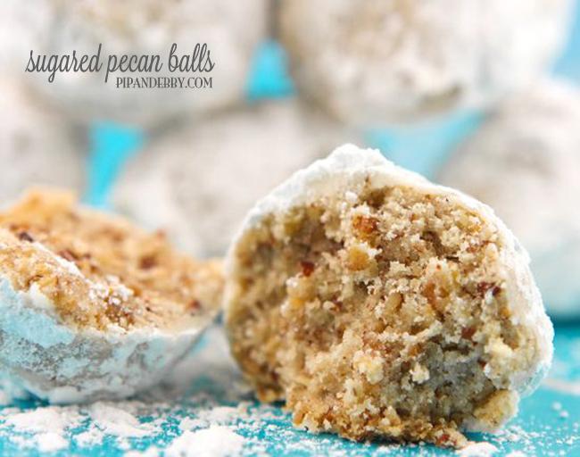 Pecan Balls Christmas Cookies