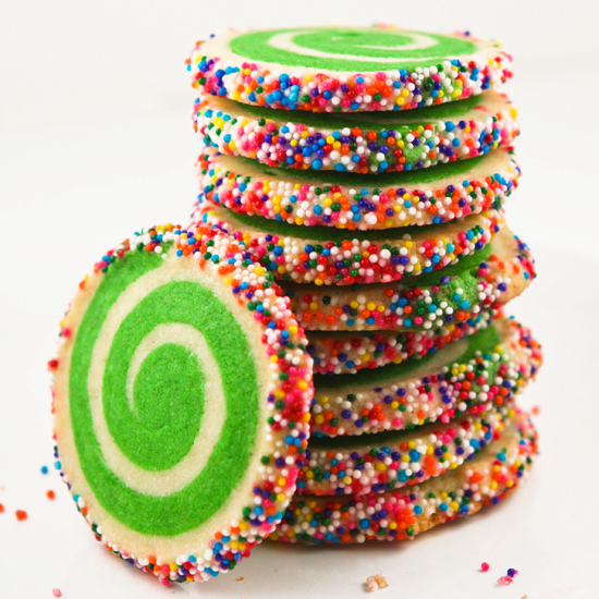 these colorful cookies from sprinkle bakes caught my eye last week as i perused for something festive to bring to christmas eve dinner arent they pretty