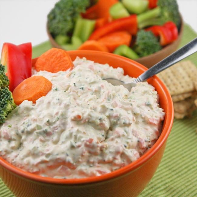 Creamy Vegetable Dip