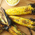 Grilled Corn with Mango-Habañero Butter