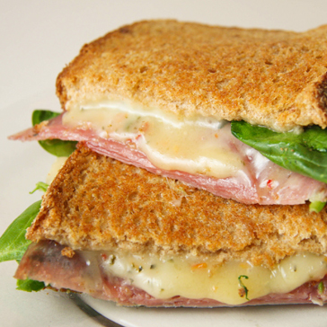 Havarti Salami Grilled Cheese Sandwich