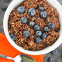 Breakfast Quinoa with Blueberries