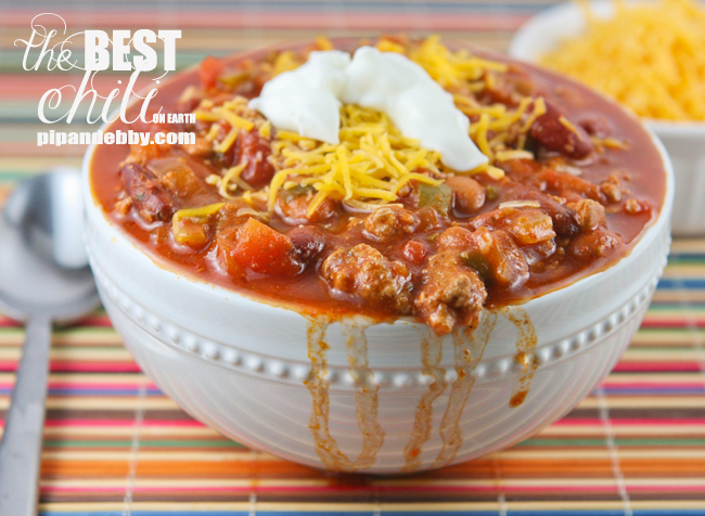 The Best Chili on Earth — Pip and Ebby