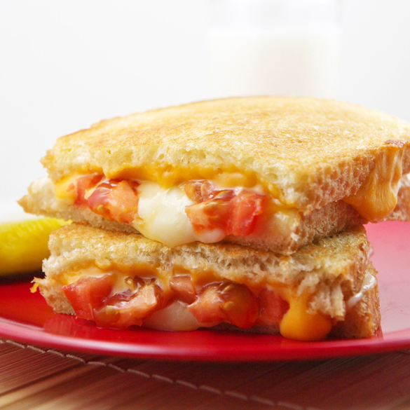 The Classic Grilled Cheese Sandwich