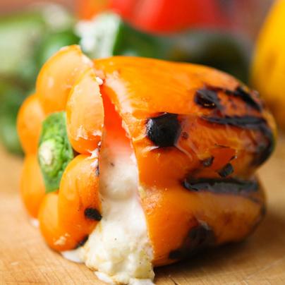 Cheese-Stuffed Peppers