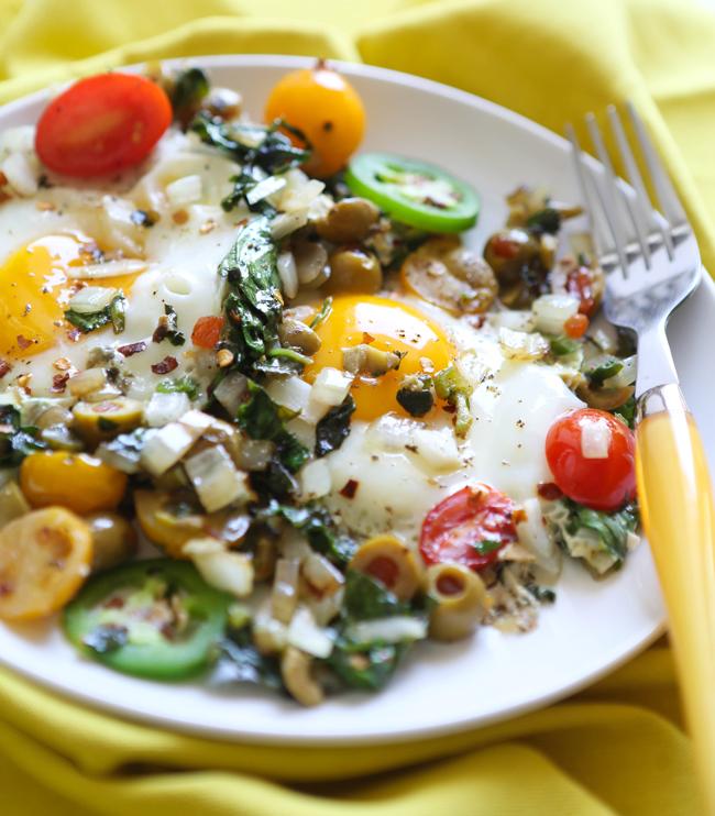 Make-Ahead Breakfast: Easy Eggs And Veggies Recipe