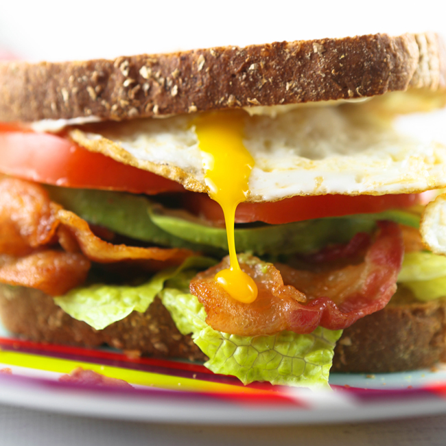 BLEAT Sandwich (a yummy twist on the BLT!) — Pip and Ebby