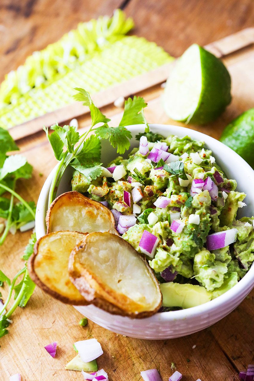 Quick and Easy Homemade Guacamole