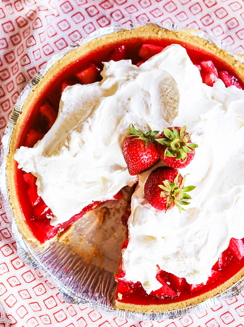 Easy Fresh Strawberry Pie