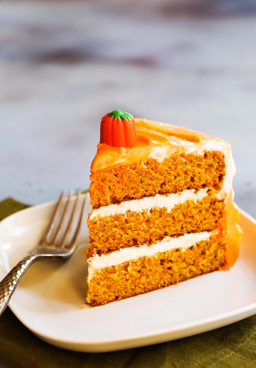 Pumpkin Spice Layer Cake