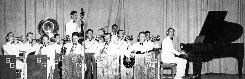 Southern Gentlemen dance band, c. 1940
