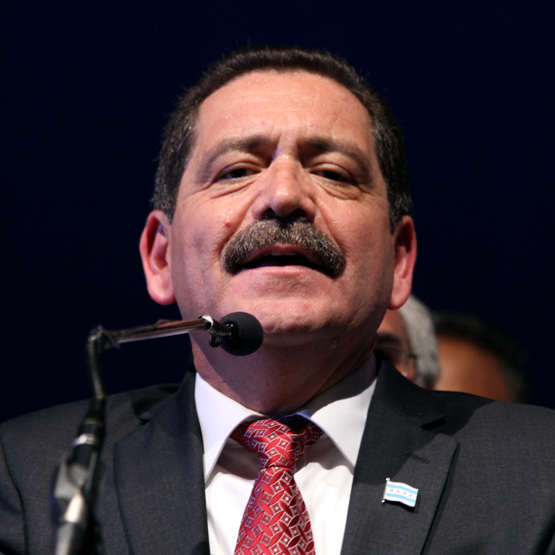 Chuy Garcia concedes his campaign for Mayor of Chicago.