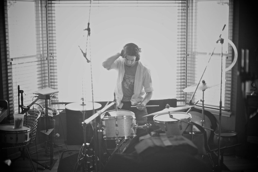 Recording Drums for Count Fleet