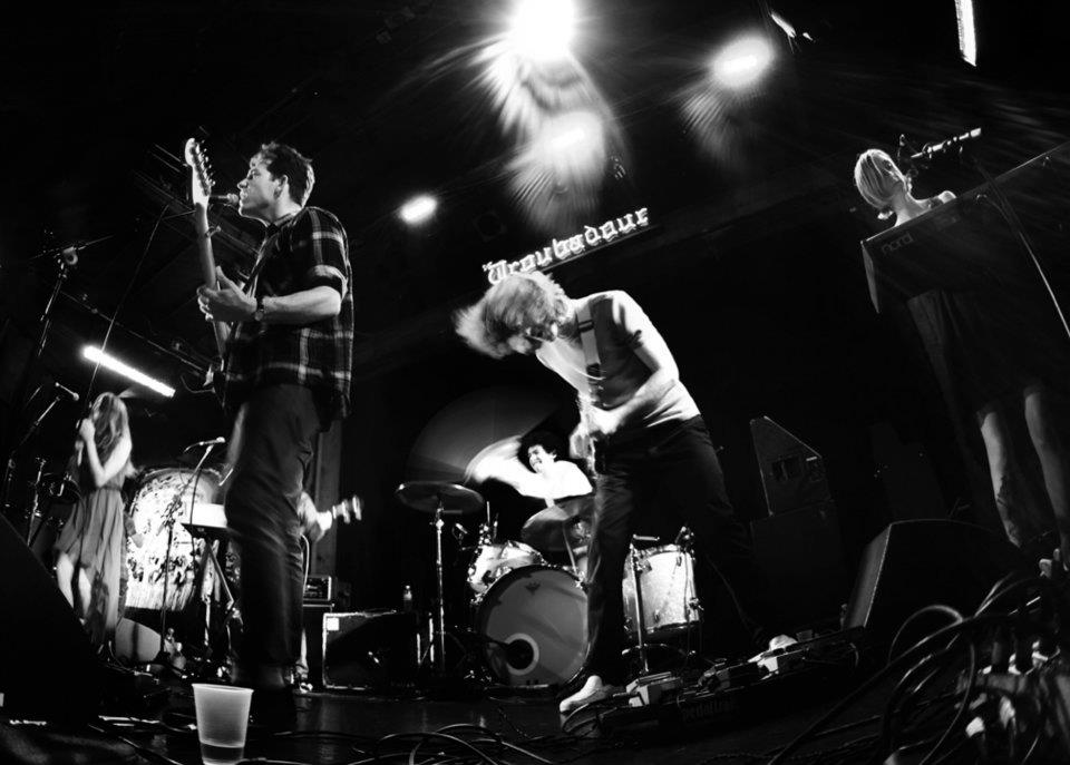 Races performing at the El Rey Theatre