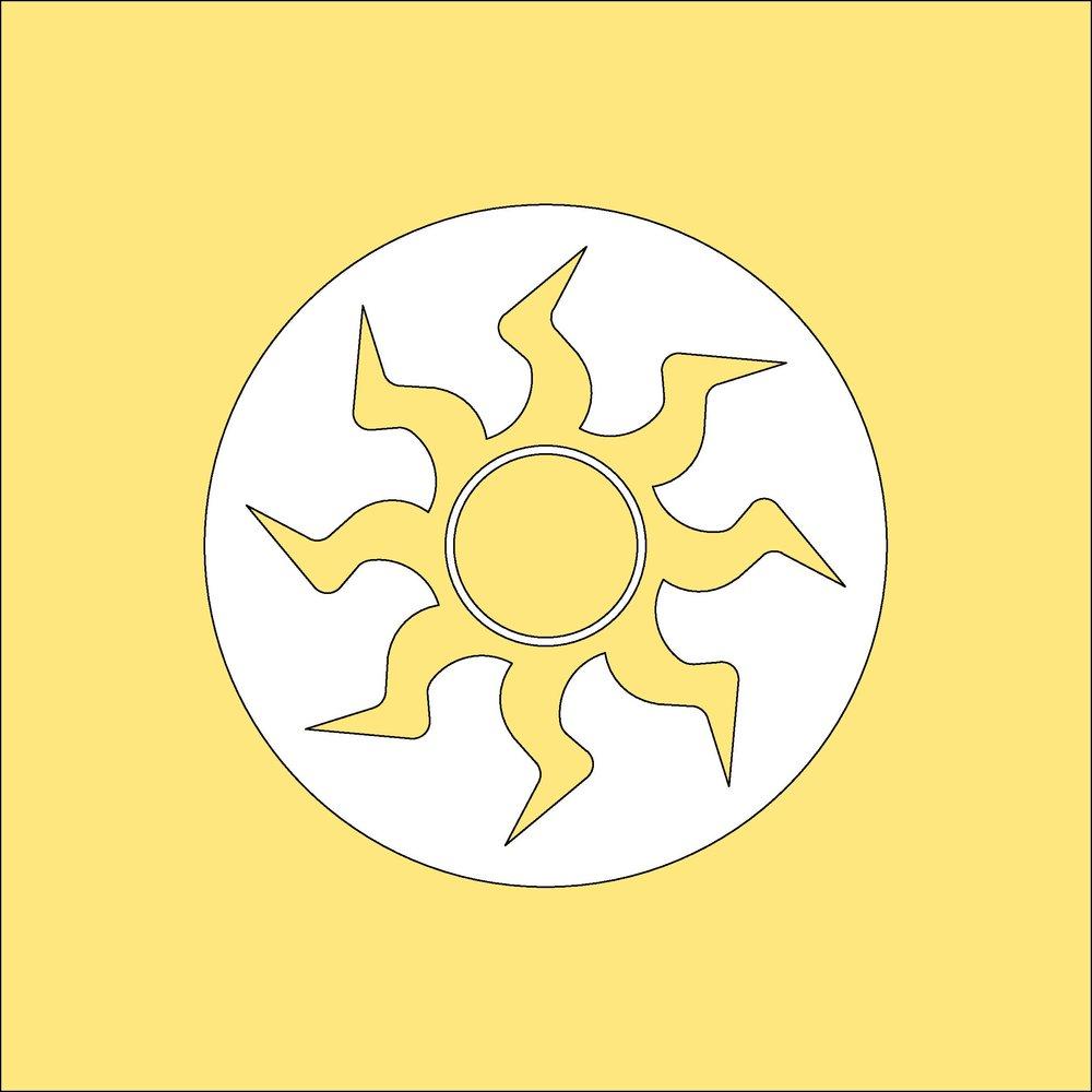 MTG Plains Mana Symbol