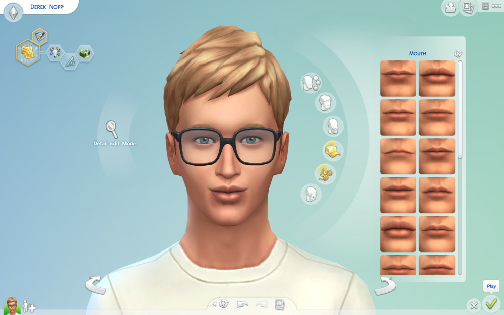 This is how my Sim self turned out. Still a little hotter that I am IRL. lol