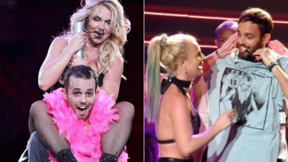 "Britney has brought Cade on stage at both the ""Femme Fatale Tour"" and ""Britney: Piece of Me."""