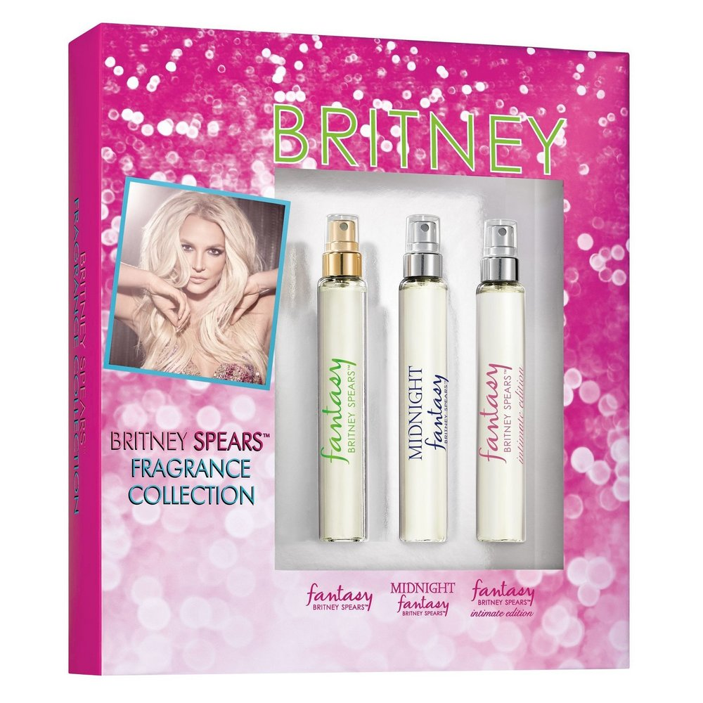 Britney Spears Fragrance Sampler Stocking Stuffer - 3 Pieces  $21.99 at Target.com