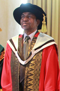 mr r padmanathan - honorary master of administration