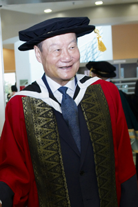 Prof dr wichit srisa-an - honorary doctor of letters