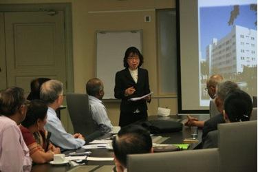 Dr Kremthong highlights her School
