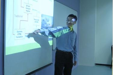 Dr Teoh elaborates on the study progression